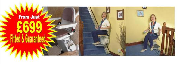 Stairlifts Scunthorpe, Hull, Grimsby, Doncaster